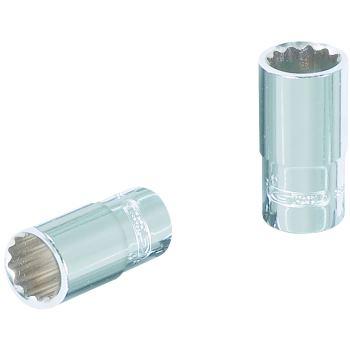 """1/4"""" CHROMEplus® 12-kant-Stecknuss, 12mm 918."""