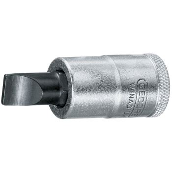 """Schraubendrehereinsatz 1/2"""" Schlitz 10x1,6 mm"""