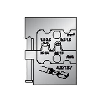 Modul-Einsatz für Flachsteckhülsen 4,8