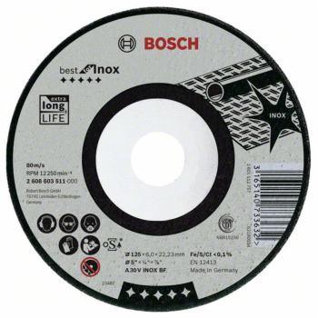 Schruppscheibe gekröpft, Best for Inox A 30 V INOX