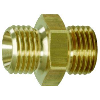 Messing-Reduziernippel, 21x24mm 515.3382