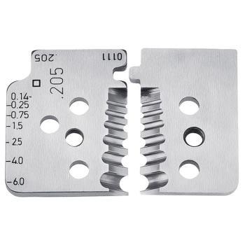 1 Satz Ersatzmesser für 12 12 06 mm