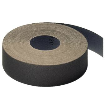 Schleifgewebe-Rollen, braun, KL 385 JF , Abm.: 115x50000 mm, Korn: 150