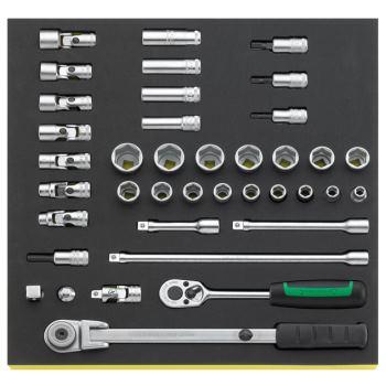 """96830602 - 3/8"""" Werkzeuge in TCS Einlage"""