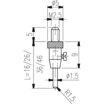 Messeinsatz Typ TN 12