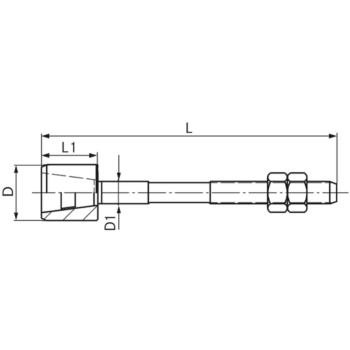 Führungszapfen komplett Größe 3 14 mm GZ 2301400