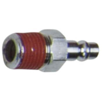 Messing-Stecknippel mit Außengewinde, 10x21mm 515.