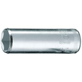 """Steckschlüsseleinsatz 1/4"""" lang 6-kant 6 mm"""