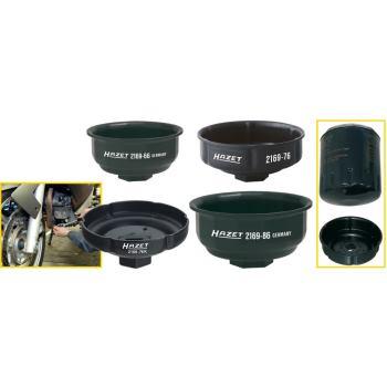 Ölfilter-Schlüssel 2169-76 · Vierkant hohl12,5 mm (1/2 Zoll) · Rillenprofil