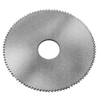 Vollhartmetall-Kreissägeblatt Zahnform A 63x2,5x1