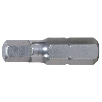 """1/4"""" EDELSTAHL Bit Innensechskant, 25mm, 6mm"""