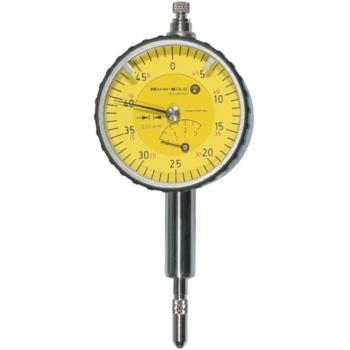 Messuhr mit langem Schaft 0,01 mm Skalenteilungswe