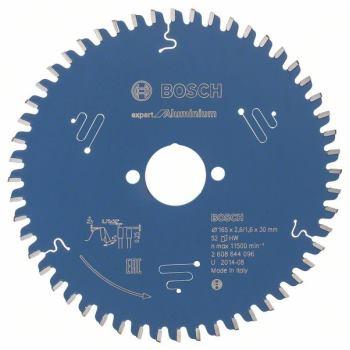 Kreissägeblatt Expert for Aluminium, 165 x 30 x 2,6 mm, 52