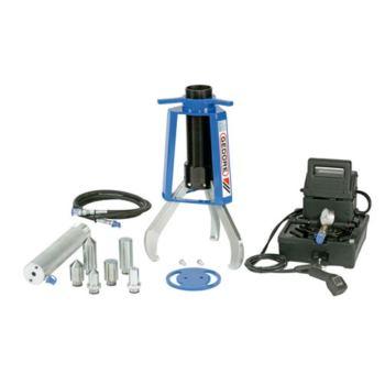Hydr.-Abzieher 3-armig, 13 t, inkl. Zylinder und P umpe