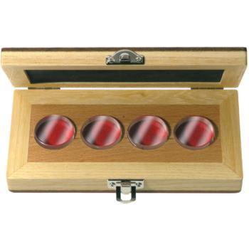 Planparallele Prüfgläser 4 Stück für 0 - 25 mm