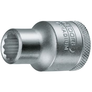 Steckschlüsseleinsatz 9 mm 1/2 Inch DIN 3124 Dopp