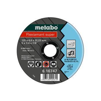 Flexiamant super 125x6,0x22,23 Inox, Schruppscheib