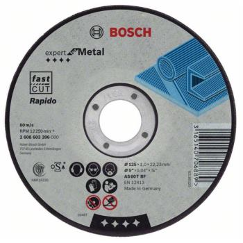 Trennscheibe gerade Expert for Metal, Rapido AS 46