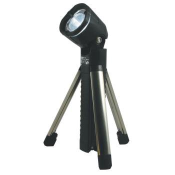 LED-Taschenlampe mit Stativ, aufladbar