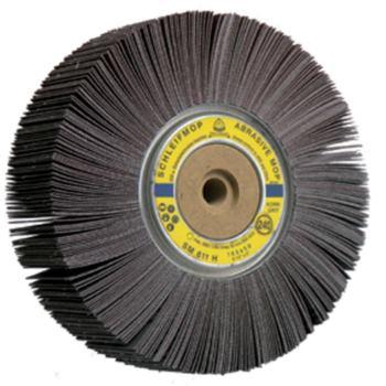 Schleifmop-Rad, SM 611 H, Abm.: 165x50x13 Korn: 80