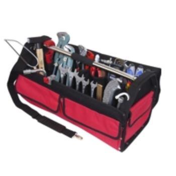 Textiltasche 4-TXL, komplett, mit Sanitär-Heizung- Werkzeugpaket 4, 28-teilig