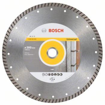 Diamanttrennscheibe Standard for Universal Turbo,300 x 25,40 x 3 x 10 mm