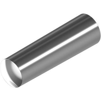 Kegelstifte DIN 1 - Edelstahl A1 10x 80