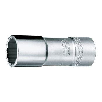 Steckschlüsseleinsatz 16mm 1/2 Inch DIN 3124 lang
