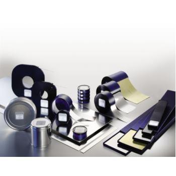 H+S Unterlegfolie C-Stahl 0,08 mm Format 25 mm x 5