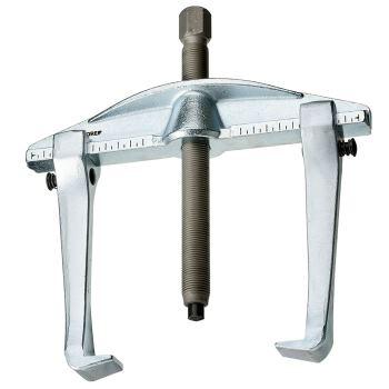 Universal-Abzieher 2-armig, Ganzstahlhaken, Hakenb remse 200x150 mm