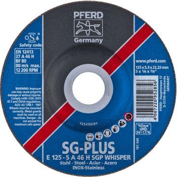 Schruppscheibe E 125-5 A 46 H SGP-WHISPER/22,23