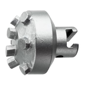 HM-Bohrkopf, spitz, 22K, D=45mm