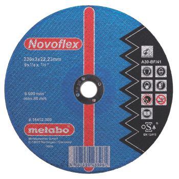 Novoflex 115x2,5x22,23 Stahl, Trennscheibe, gekröp