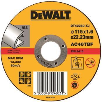 Standard Aluminium Trennscheibe - flach DT42260