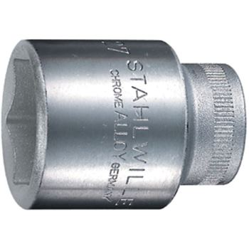 """1/2"""" Zoll Steckschlüssel Einsatz Ø 10 mm sechskant DIN3124"""