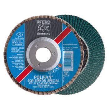 POLIFAN®-Fächerscheibe PFF 180 Z 60 SGP-SPECIAL/22,23 Auslaufartikel