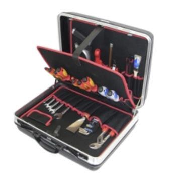Hartschalenkoffer 11-H3, komplett, mit Elektro-Wer kzeugpaket 11, 33-teilig