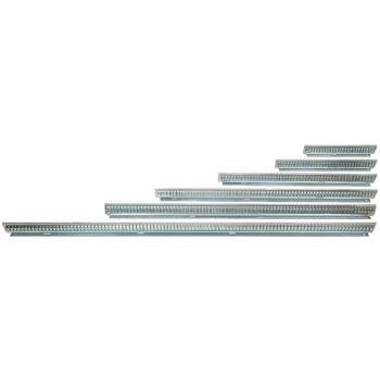 Fachschienen aus Stahlblech Nennlänge 450 mm Hö