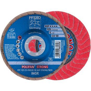 POLIFAN®-Fächerscheibe PFC 125 CO 50 SGP-STRONG-FREEZE/22,23