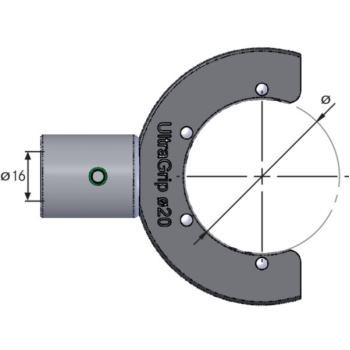 Einsatz Profilschlüssel UlraGrip D= 50 233