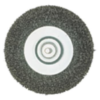 Stahldraht-Rundbürste mit Spannschaft 6mm