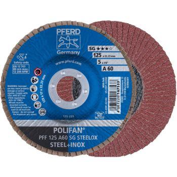POLIFAN®-Fächerscheibe PFF 125 A 60 SG/22,23
