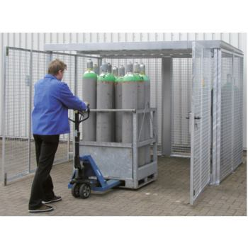 Gasflaschen-Container Typ GFC-M 5 LxBxH 3100x2100x
