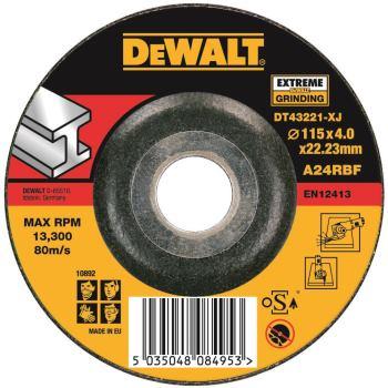 EXTREME Metall-Schruppscheibe - gekröpf DT43221