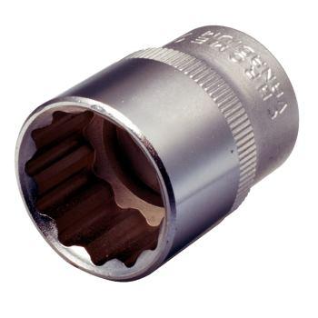"""1/2"""" Stecknuss für 12-kant-Schrauben, 19mm 911.157"""