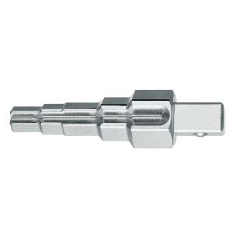 """Combi-Stufenschlüssel No. 380100 mit Knarre 1/2"""" N o. 380200"""
