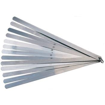Fühlerlehren 300 mm im Ring 13 Blatt von 0,05- 1,0