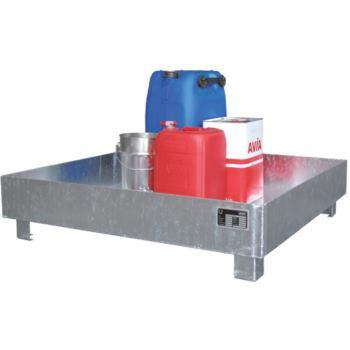Auffangwanne verzinkt LxBxH 1200x800 mmx360 mm ohn