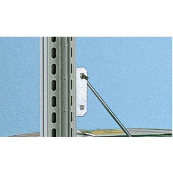 META CLIP Anschlussblech einfach verzinkt mit eing