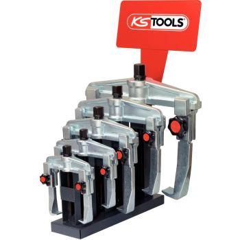 Universal-Schnellspann-Abzieher-Display, 2-armig 6
